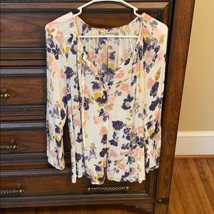 Floral Lucky Brand Top